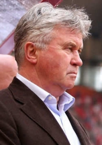 Тренер Гус Хи́ддинк , Guus Hiddink - голландец, Голландия
